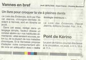 Doc PaJe dans le Ouest France